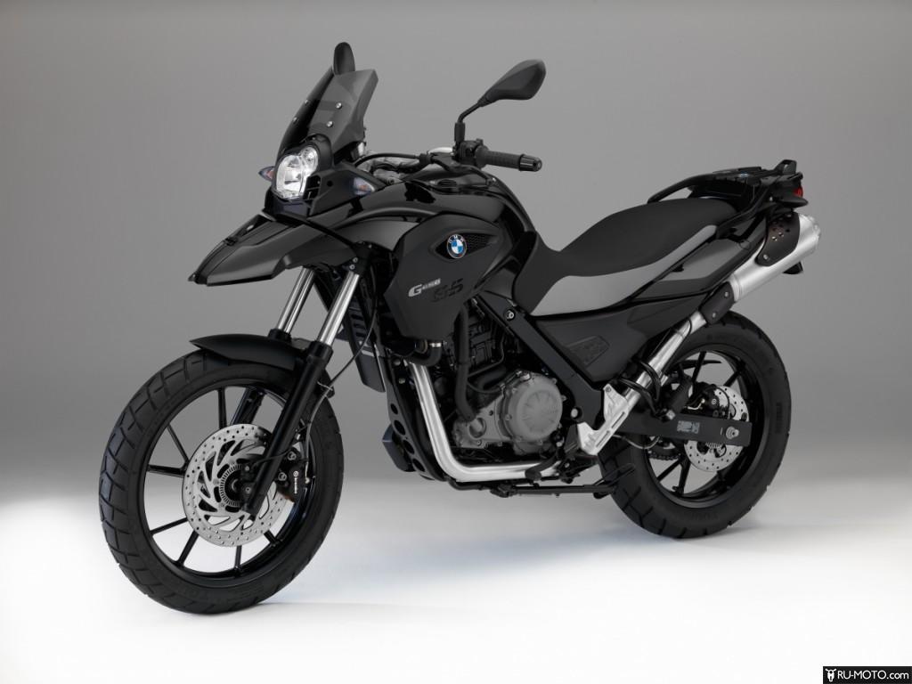 Фото BMW G 650 GS Deep Black в профиль