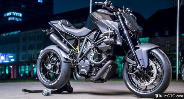 Мотоцикл КТМ после доработки