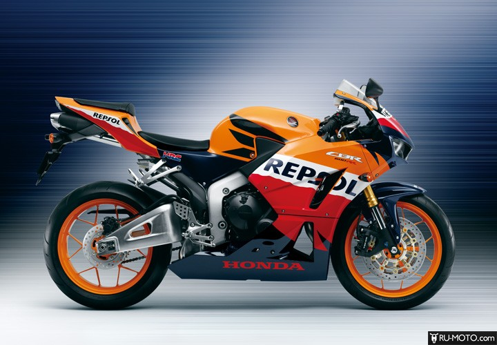 обзор Honda CBR600RR
