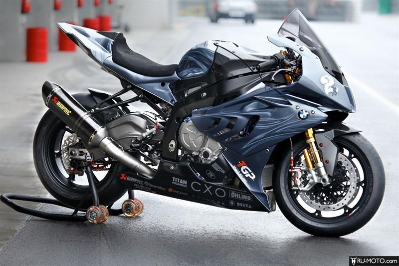 Тюнинг мотоцикла BMW S1000 RR