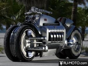 Dodge Tomahawk - один из самых быстрых мотоциклов мира