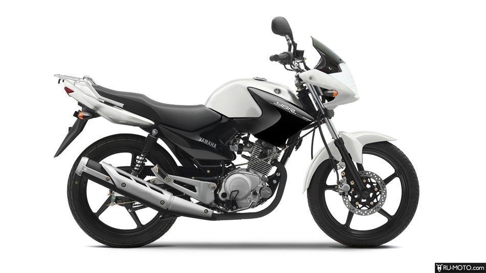 Yamaha YBR125 - фото 2. Вид в профиль