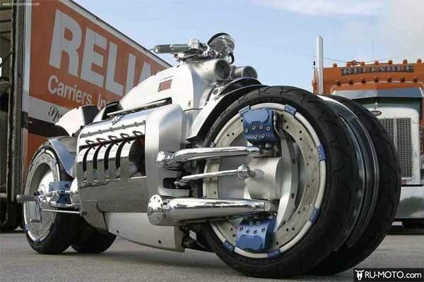 Dodge Tomahawk может разогнаться до 640 км/ч
