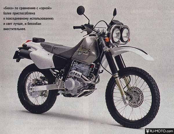 Honda XR250 Baja