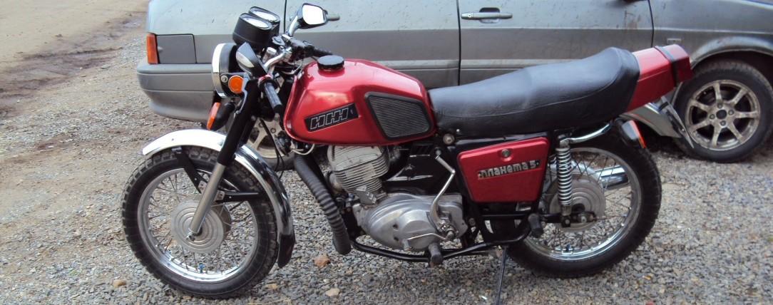 """Обзор мотоцикла ИЖ """"Планета-5"""""""