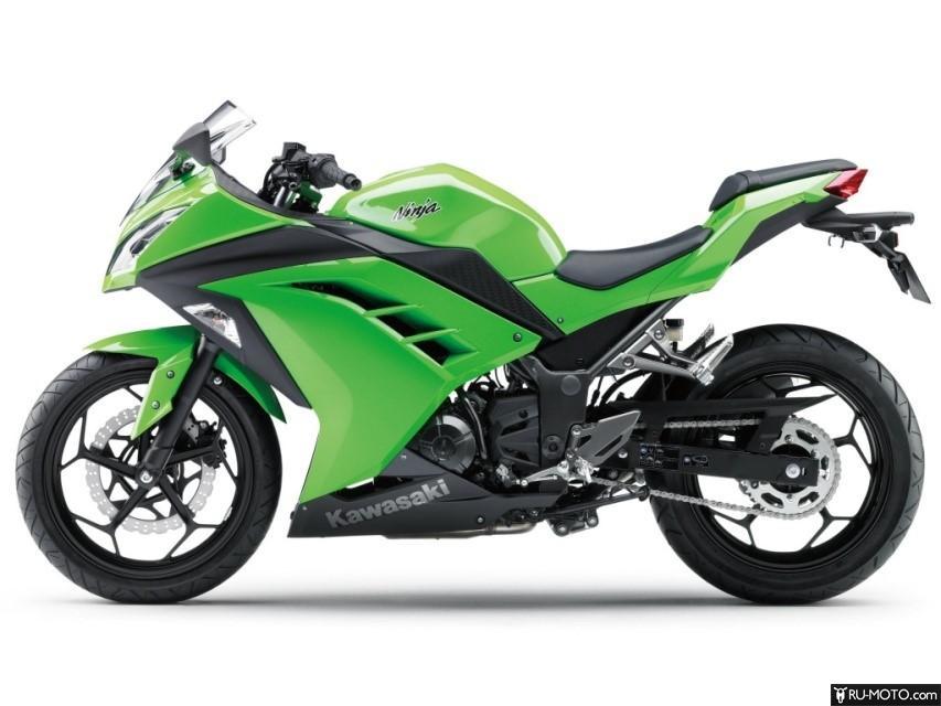 Kawasaki Ninja 300 - фото. Вид в профиль