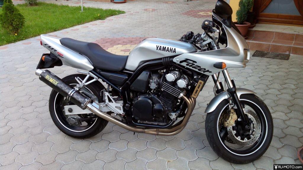 Технические характеристики Yamaha FZ 400