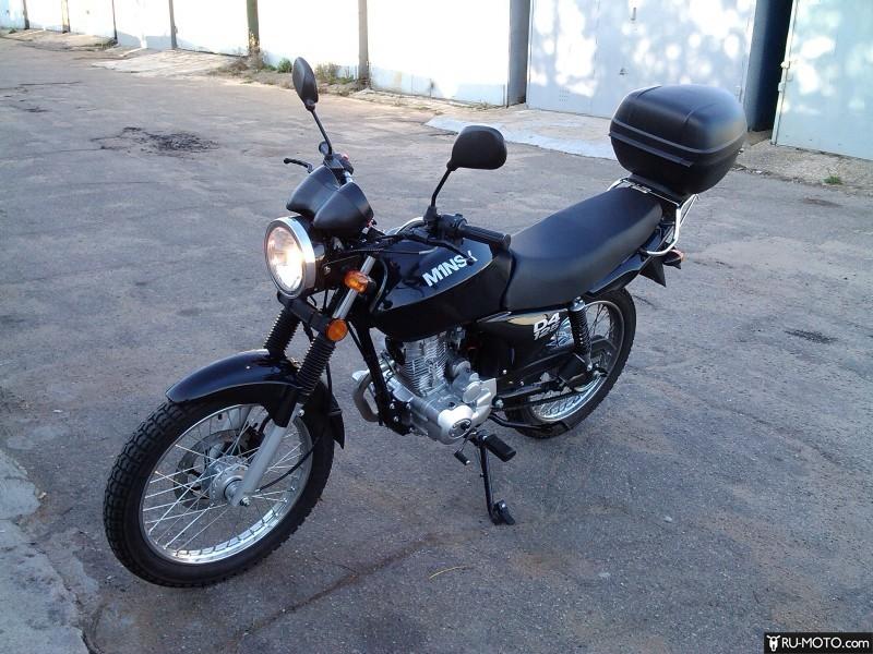 Тюнинг внешнего вида мотоцикла Minsk D4 125