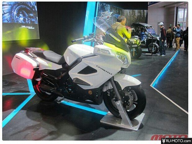 Выставка китайский мотоциклов