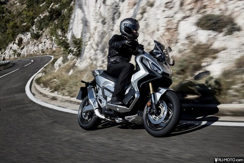 Модельный ряд мотоциклов Honda 2017 года
