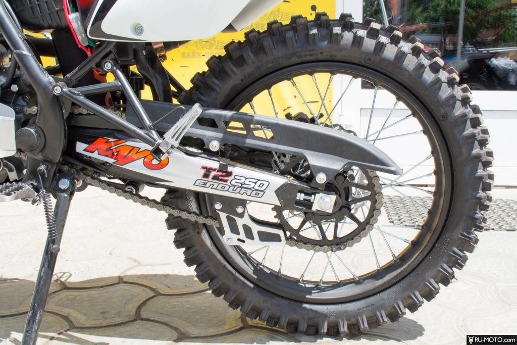 Преимущества питбайка Kayo T2 250