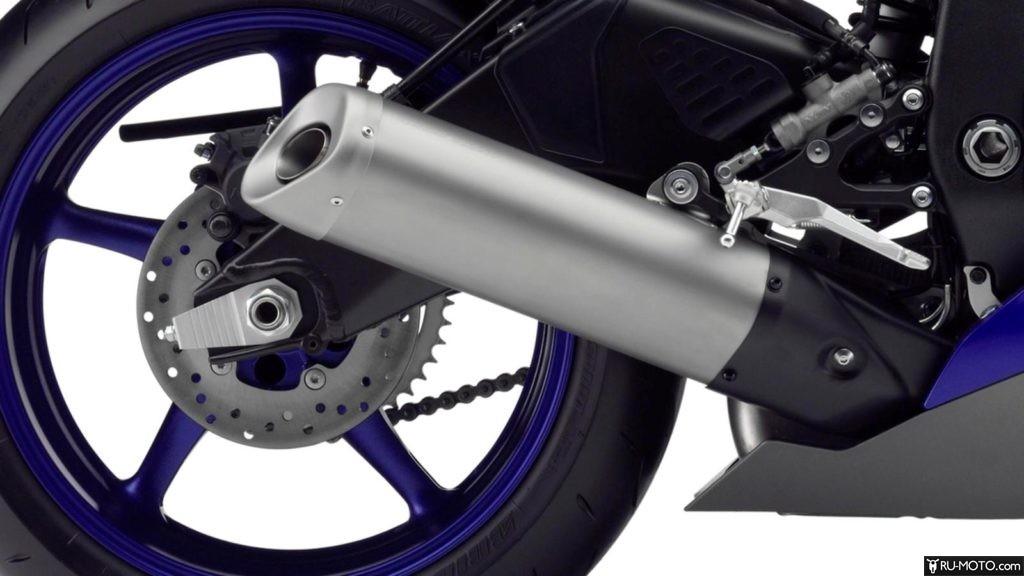 Характеристики Yamaha YZF-R6