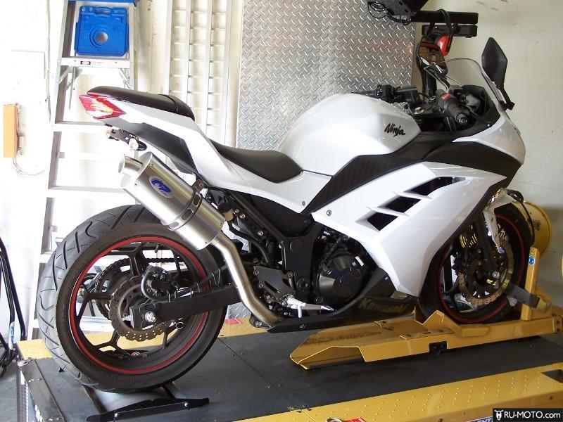 Пример тюнинга Kawasaki ниндзя 300. Фото.